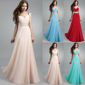 ae41c357d216 Image is loading Long-Formal-Evening-Prom-Party-Dress-Bridesmaid-Dresses-