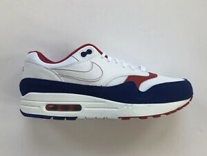 Nike Air Max 1 White Red Blue (CJ9927 100)