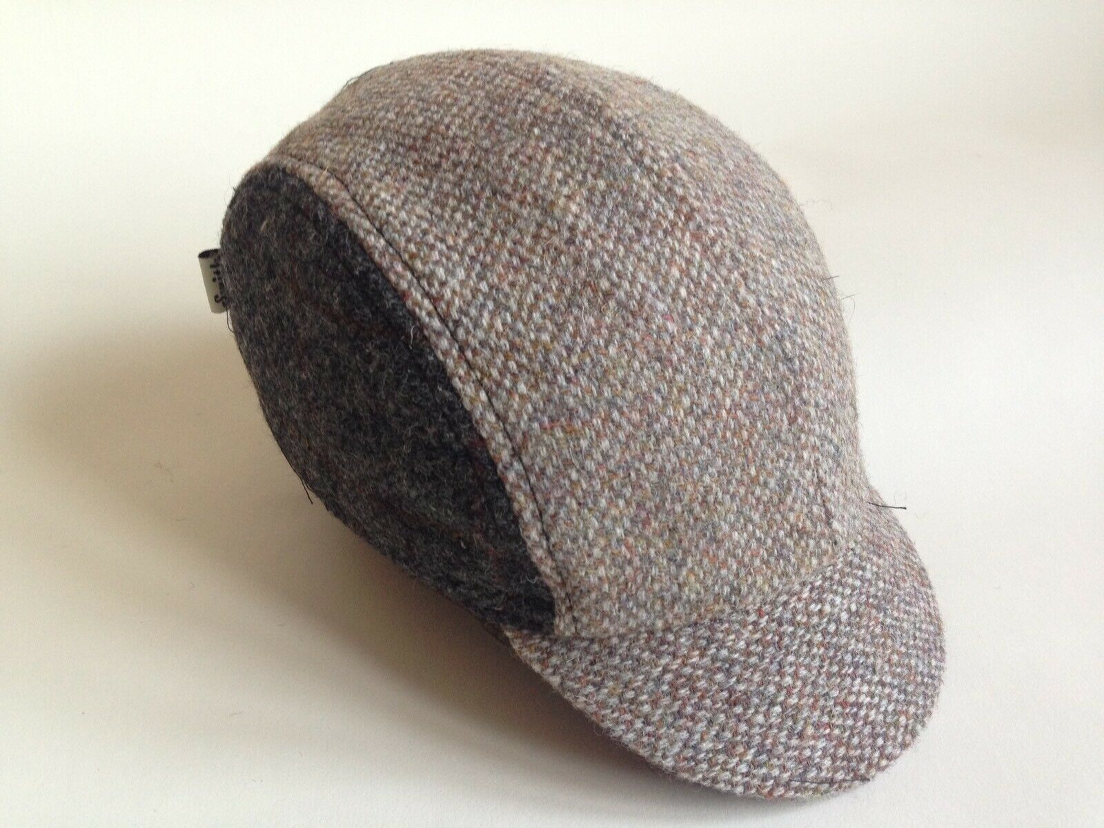 Harris Tweed Cap Size   L  Hand Made By Smith-London CLASSIC Cycling Cap