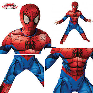 Amazing-Spiderman-Deluxe-Costume-Carnevale-Originale-Marvel-Cosplay-SPIDRU05