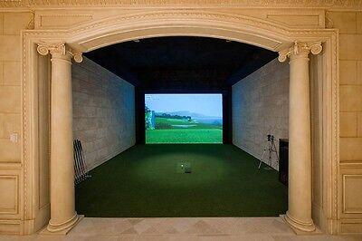 "86"" X 100"" GOLF Simulator Impact Screen Material, projection material"