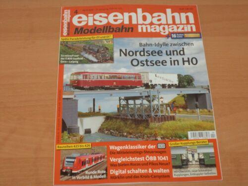 Eisenbahn Modellbahn Magazin Ausgabe 4 April 2019 Neuwertig!