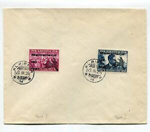 Lithuania 1939 Memel Land 2 Value Klaipeur