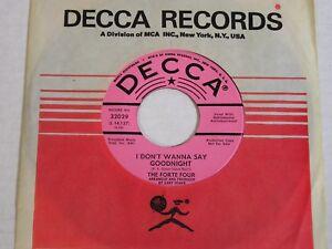 Forte-Four-I-Don-039-t-Wanna-Say-Goodnight-1966-Gary-Usher-Sunshine-Pop-PROMO-45-NM