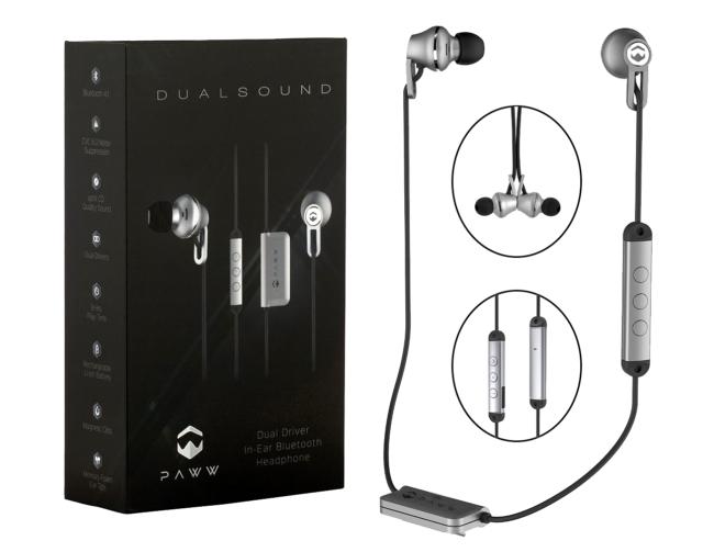 233ae8c5b29 Paww DualSound Wireless in Ear Headphones | Premium Bluetooth 4.1 Memory  Foam EA for sale online | eBay
