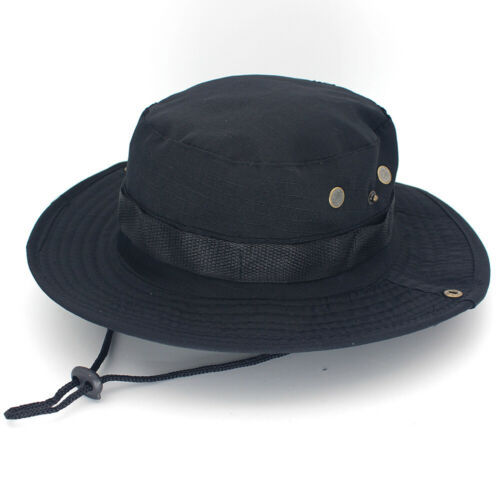 360° Outdoor Fishing Hunting Bucket Hats Mesh Sun Cap UV Protection Ear Flap Hat