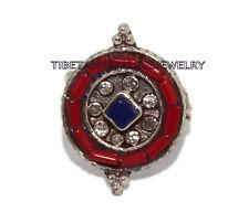 Adjustable Lapis Ring Coral ring Gypsy ring Tibetan ring Tibet Ring RB39
