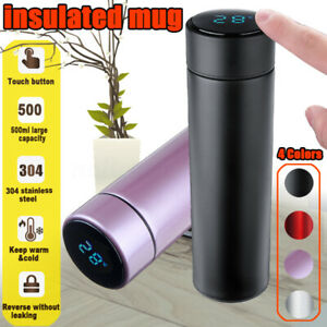 500ML-LCD-Thermos-Cup-Mug-Tea-Coffee-Water-Vacuum-Bottle-304-Stainless
