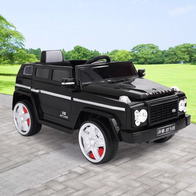 12v Mp3 Kids Ride on Car Truck RC Battery Power Wheels W/ LED Lights