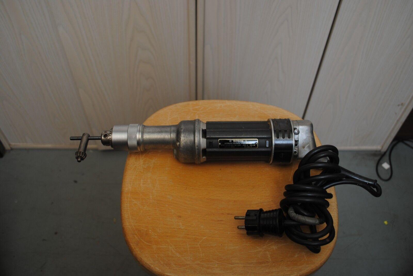 Hochwertige alter Handmotoren von BOSCH EW-UAB65 mit Bedienungsanleitung