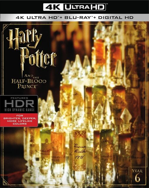 Harry Potter and the Half-Blood Prince (Year 6)(4K Ultra HD)(UHD)(DTS:X)