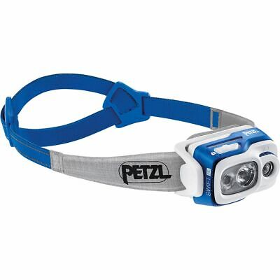 Petzl SWIFT RL PRO USB rechargeable headlamp 900 lumens Reactive Lighting Radar