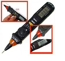 MASTECH 8211D PEN TYPE DIGITAL POCKET MULTI METER DMM WITH LOGIC / RESISTANCE