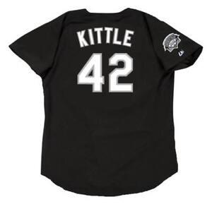 f92fe5ba4 RON KITTLE Chicago White Sox 1991 Majestic Throwback Baseball Jersey ...