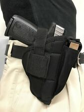 "ProGun Belt Clip Side Gun Holster fits Ruger SR9C (9MM) with 3.5"" Barrel"