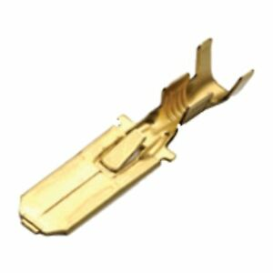 100 x MALE Terminals - 6.3mm Multi - Connectors - BRASS (1.5 - 2.5mm² cable)