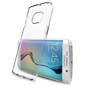Coque Souple Crystal Clear Pour Galaxy S6 Edge