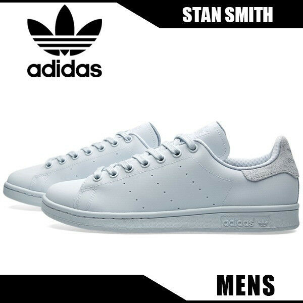Details about Adidas Originals Stan Smith Triple White Suede Heel Reflective 10 Shoes S80249