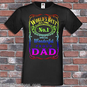 Best-Dad-Shirt-Gift-for-Dads-Fathers-Day-Present-No-1-Funny-Men-039-s-Gift-T-Shirt