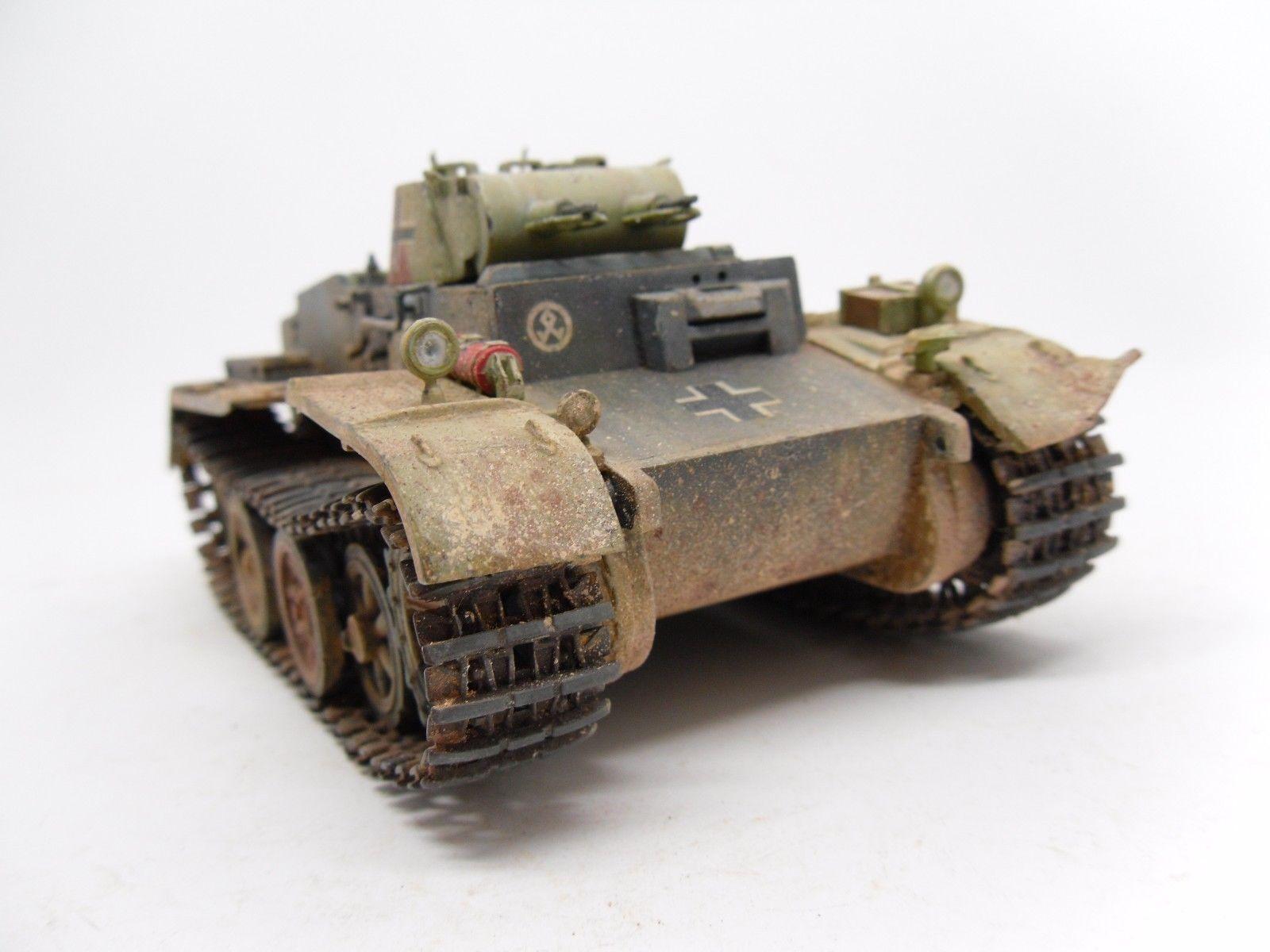 German light tank Pz Kpfw I Ausf F 1 35 built