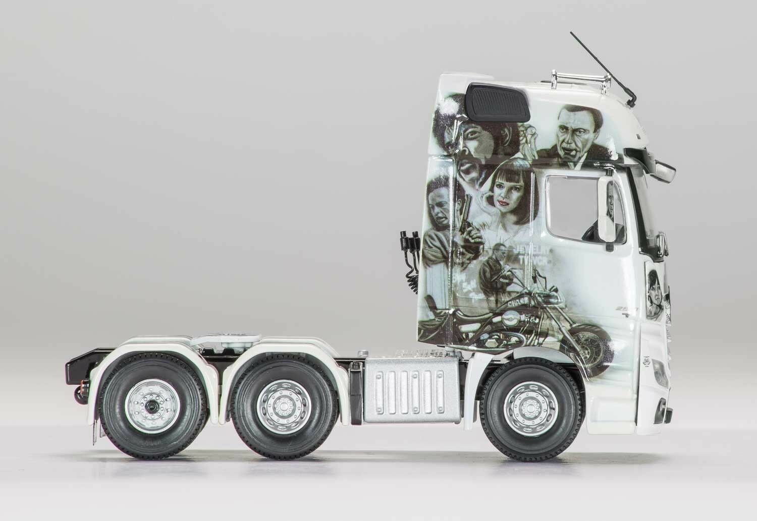 IN TRANSIT NEW RELEASE IN STOCK CORGI CC15809 1//50 MERCEDES BENZ ACTROS MP4