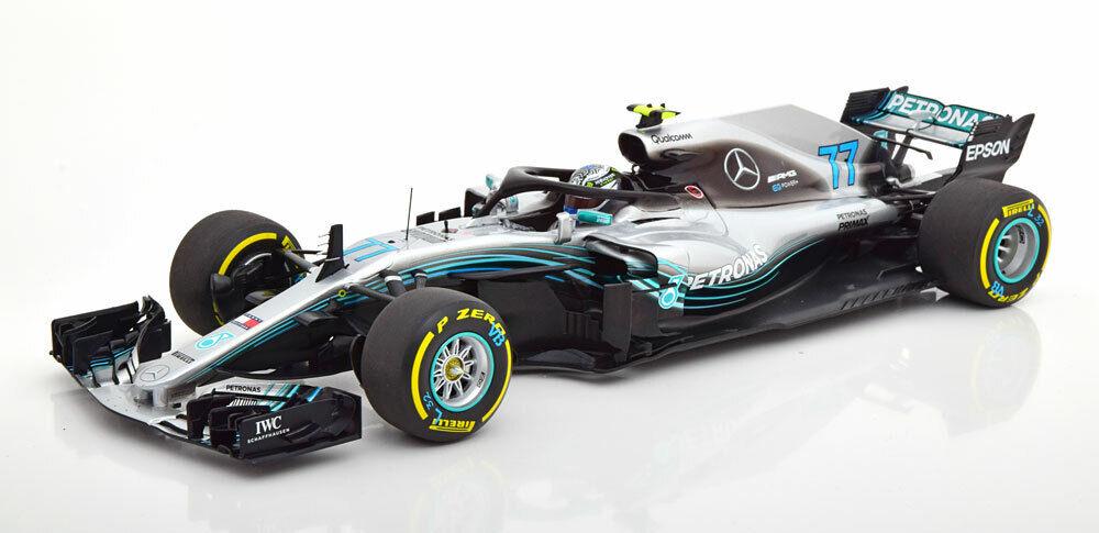 qualità di prima classe 1 18 18 18 Minichamps Mercedes W09 AMG EQ energia + Petronas F1 2018 Valtteri Bottas  offrendo il 100%