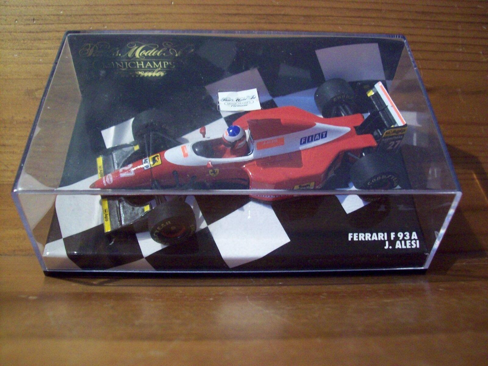1 43 Ferrari F93A 1993 Jean Alesi