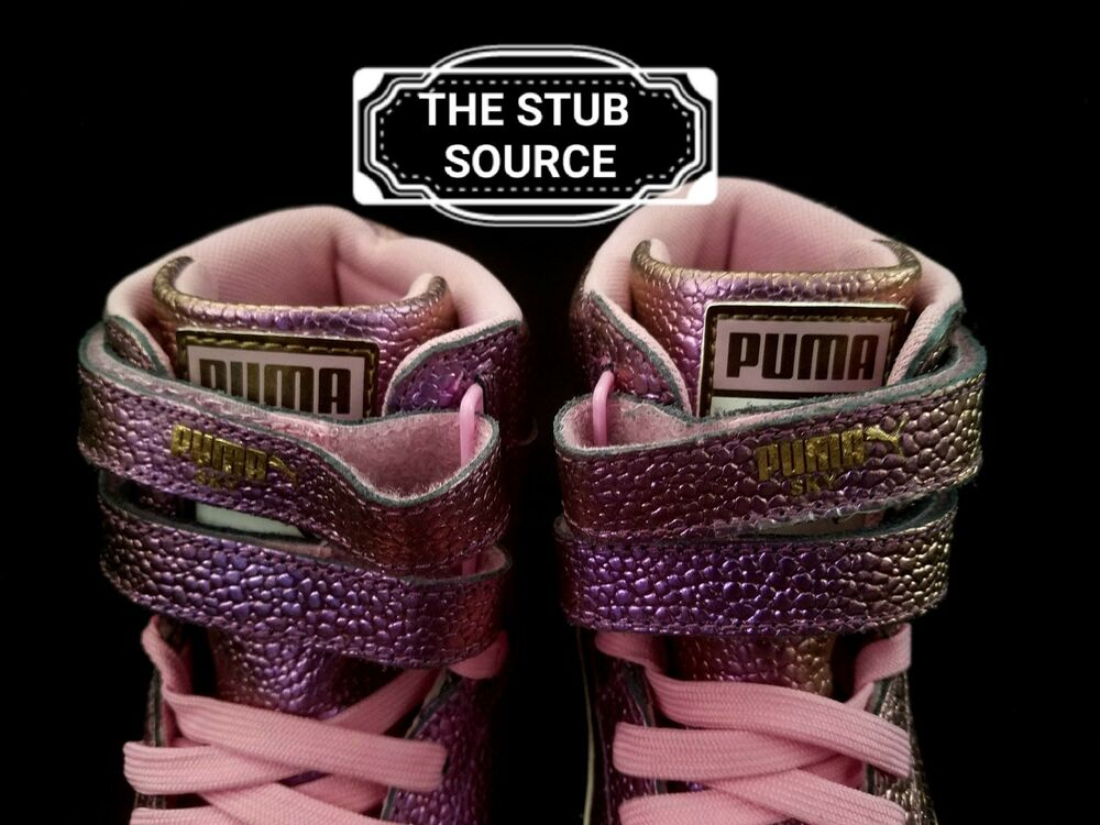 PUMA Sky II HI Reset HIGH TOP Metallic Pink 364253 chaussures Femme Taille 6 364253 Pink 01 7e48bf