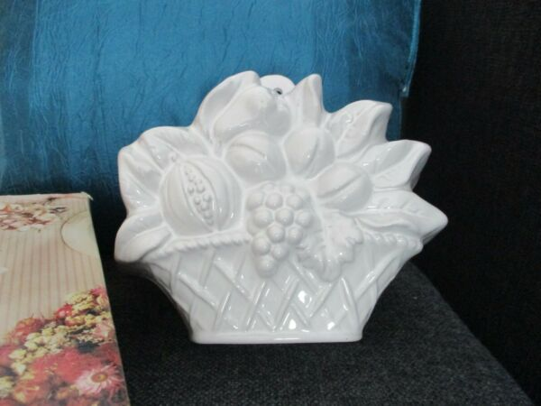 Neue Backform Puddingform Keramik Weiß - Originalverpackt Feine Verarbeitung