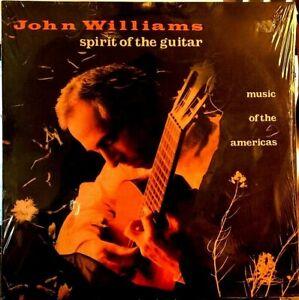 SEALED-John-Williams-LP-Spirit-of-the-Guitar-CBS-FM-44898-1989-Import