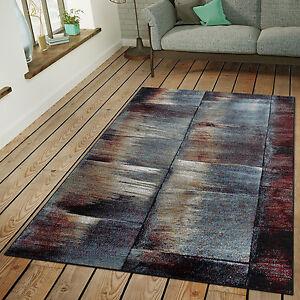 Industrie Teppich teppich modern wohnzimmer industrie look kurzflor außergewöhnlich in