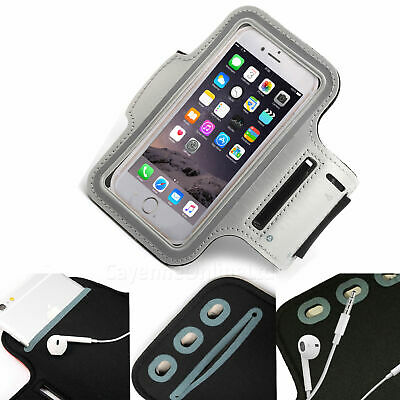 Entusiasta Custodia Fascia Da Braccio Sport Grigio Telefono Custodia Cover Palestra Corsa Per Motorola Moto G7 Power-