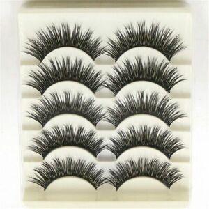 longtemps-maquillage-natural-cross-des-faux-cils-oeil-lash-extension-epaisse