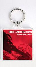BELLE & SEBASTIAN - IF YOU'RE FEELING SINISTER LP COVER KEYRING LLAVERO