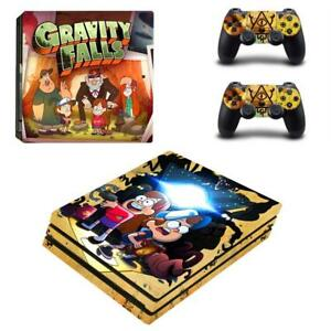 Acheter Pas Cher Gravity Falls Dipper Mabel Ps4 Pro Console Controllers Vinyl Decal Stickers Set