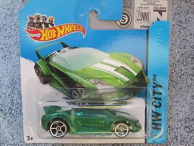 Hot Wheels 2014 # 032//250 Quick N/' Sik Verde Hw City bfc52 Lote D