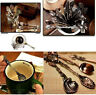 Unique Retro Vintage Antique Palace Carved Coffee Spoon Tea Ice Cream Scoop Gift