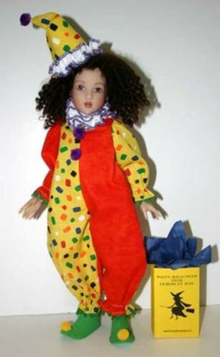 "Send in the Clowns Doll Clothes Sewing Pattern for 14/"" Chrysalis Kish"