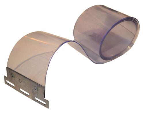 PVC Streifen Lamellen Vorhang 300x3mmx1,50mtr mit fertig  mont.Pendel