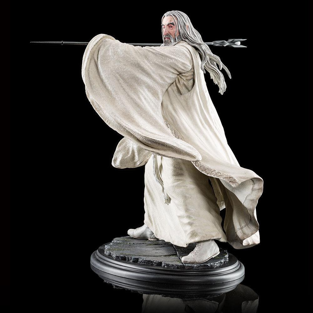 SARUMAN THE Weiß AT DOL GULDUR Weta (no Sideshow ) LOTR The Hobbit