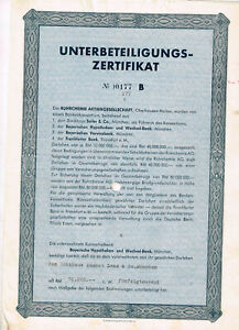 Ruhrchemie-AG-Berlin-1948-Unterbeteiligungs-Zertifikat-RM-50-000-selten-angeb