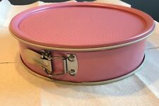Pink Round Springform Cake Pan Bakeware 10 Inches Guardini Made In Italy 26 cm