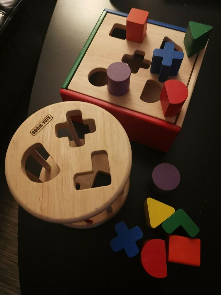 Putte kasser, Kids wood, aktivitetslegetøj