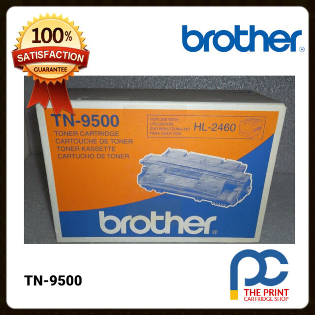 New & Original Brother TN-9500 Black Toner Cartridge 11K HL-2460 HL-2460N TN