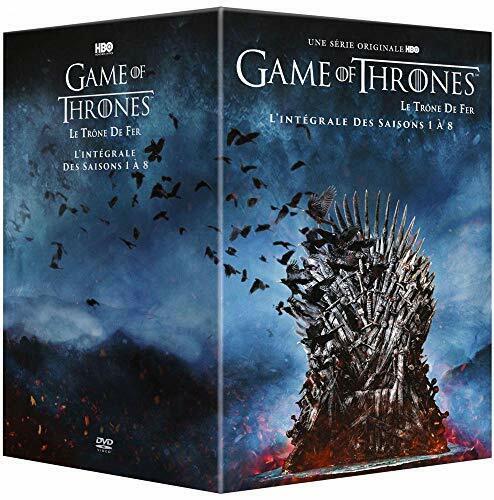 Game of Thrones (Le Trône De Fer) -L'intégrale des Saisons 1 à 8 [DVD]