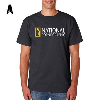 National Geographic T Shirt National Pornographic Funny wildlife africa