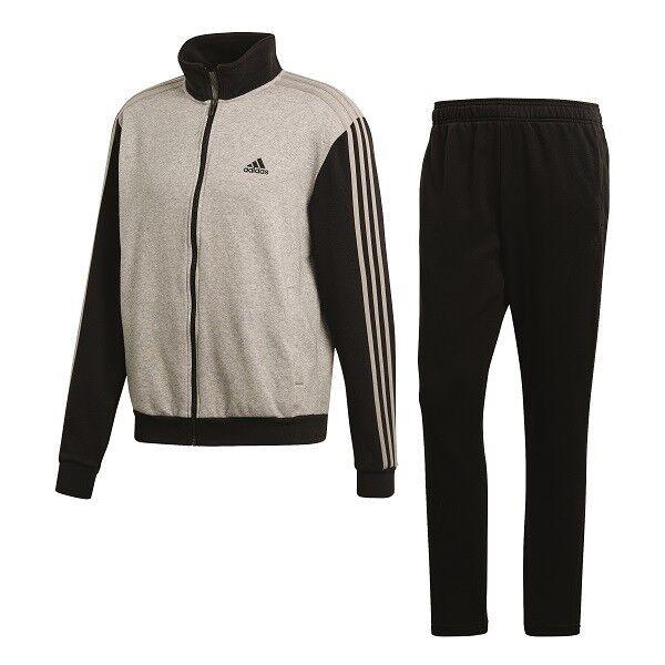 vielfältig Stile diversifiziert in der Verpackung super service adidas Relax Herren Training Trainingsanzug grau schwarz L