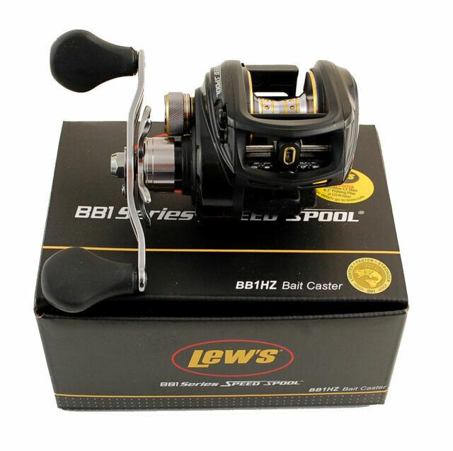 Lew/'s BB1 Speed Spool 6.4:1 Left Hand Casting Reel BB1HZL