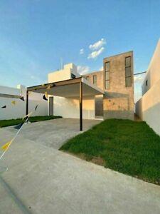 Venta de casa de 3 recámaras una en planta baja con piscina en Dzitya al norte de Mérida