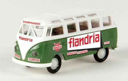 1//87 Brekina # 1758 VW T1 b Samba Flandria B 31835